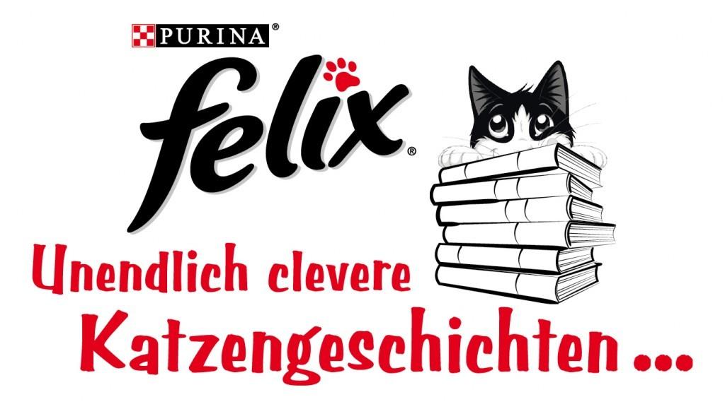 Logo der Aktion FELIX Unendlich clevere Katzengeschichten