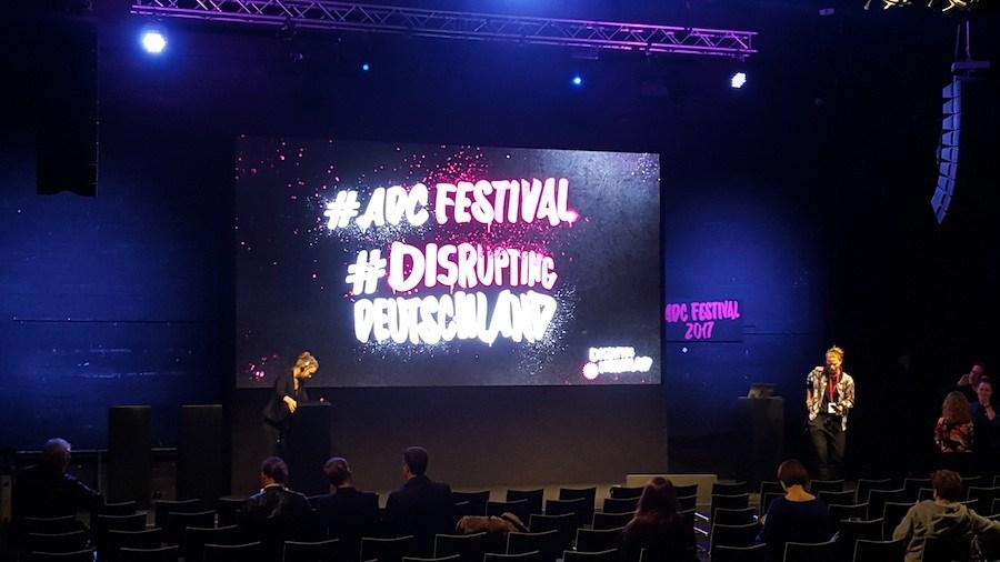 ADC Kongress #Disrupting Deutschland