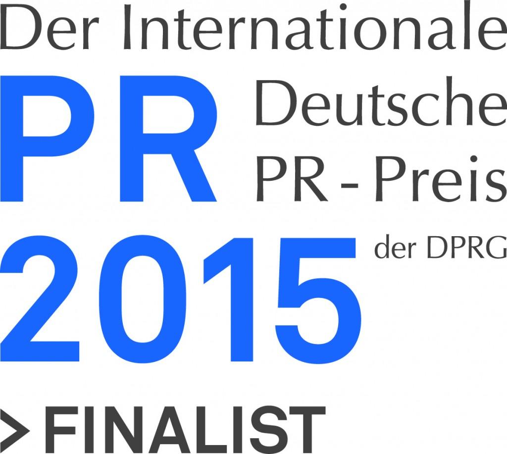 Logo der Finalisten für den PR-Preis