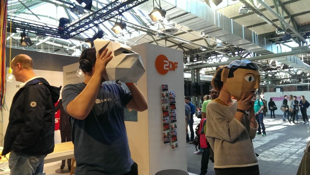 Virtual Reality zum Ausprobieren auf der Re:Publica
